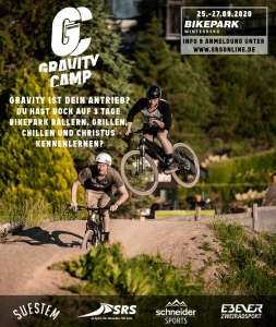Gravity Camp 2020 Flyer Mountainbike Unbound
