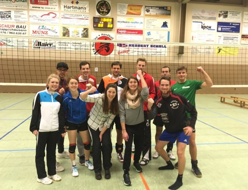 Volleyball Turnier in Neuffen