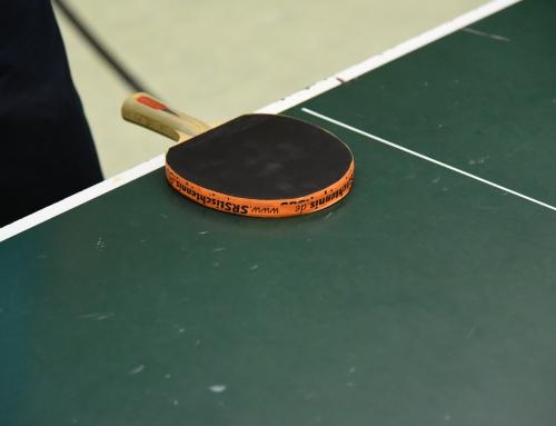 Tischtennis Wochenende mit SRS und CVJM