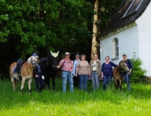 """Gelungene Premiere von """"Pilgern mit dem Pferd"""""""