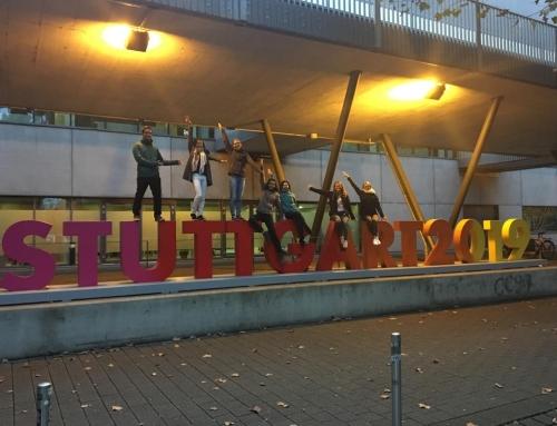 Sportlerbibeln bei der Turn-WM 2019 in Stuttgart