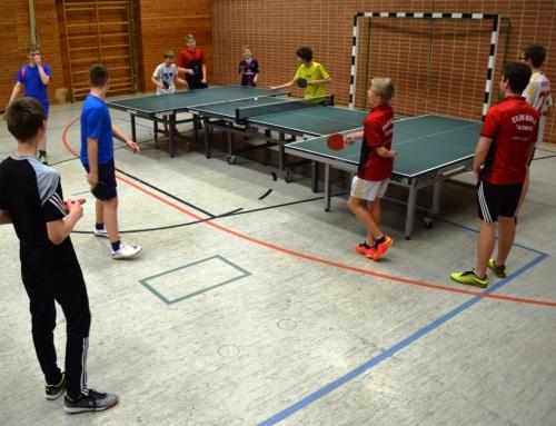 Weihnachts- Tischtennis- Wochenendfreizeit beim CVJM Naila
