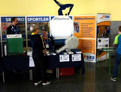 SRStischtennis wieder mit Infostand bei den Deutschen Meisterschaften vertreten