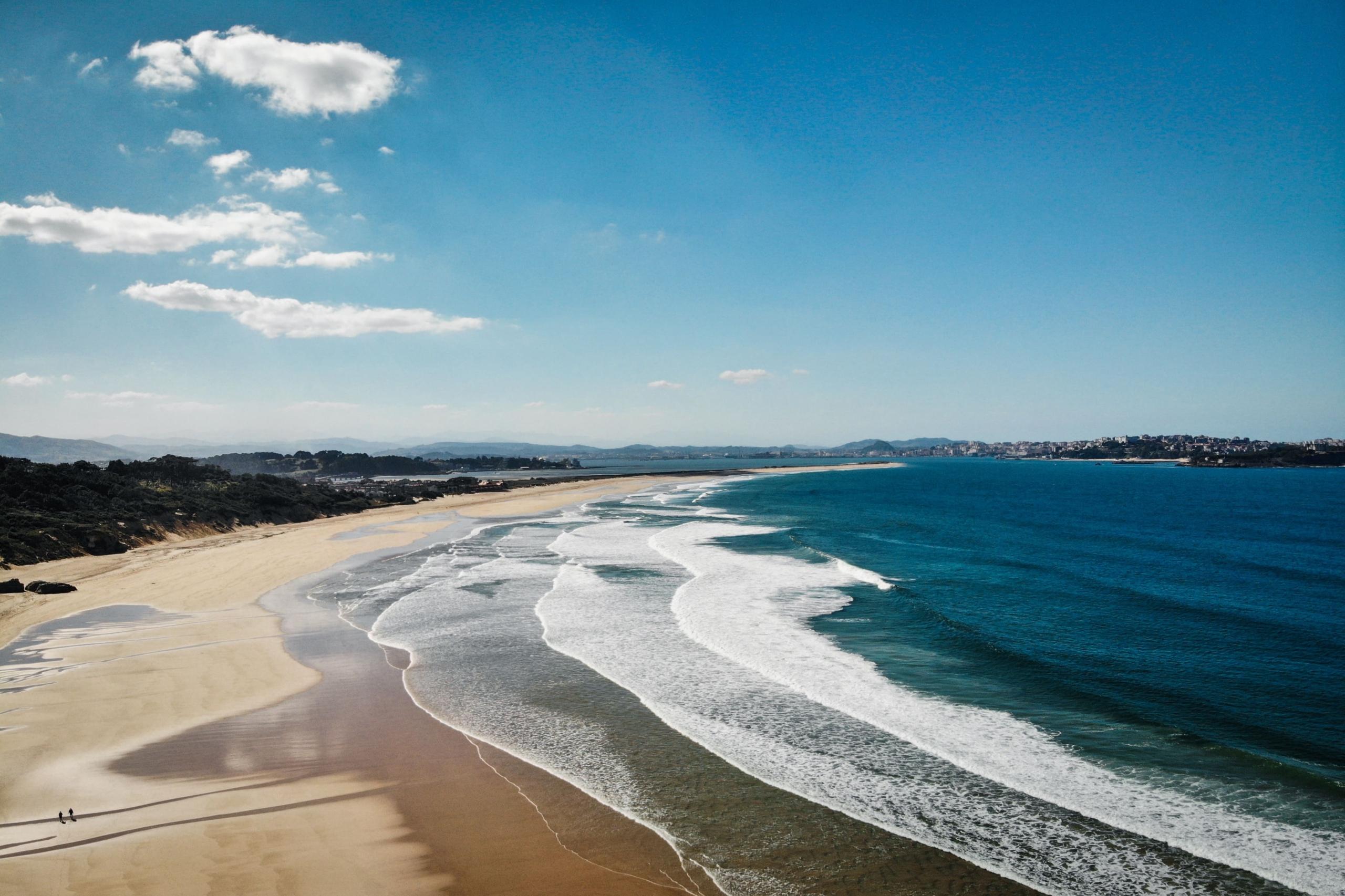 Unbound Surf Bucht Wellen