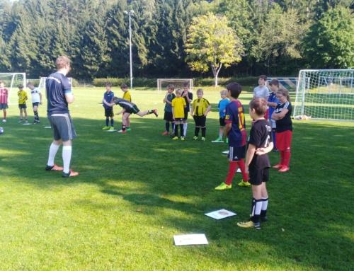 Fußballschule in Owingen im September 2021