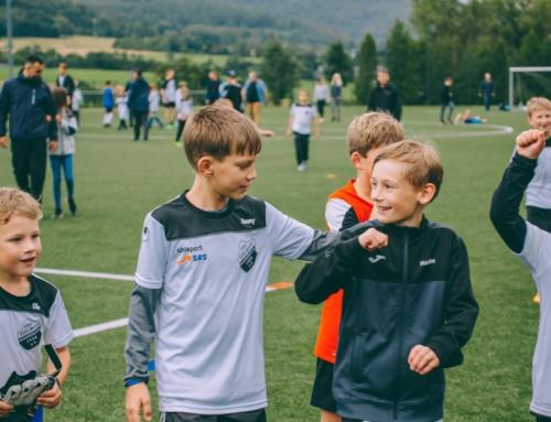 Fußballschule in Manderbach im August 2021